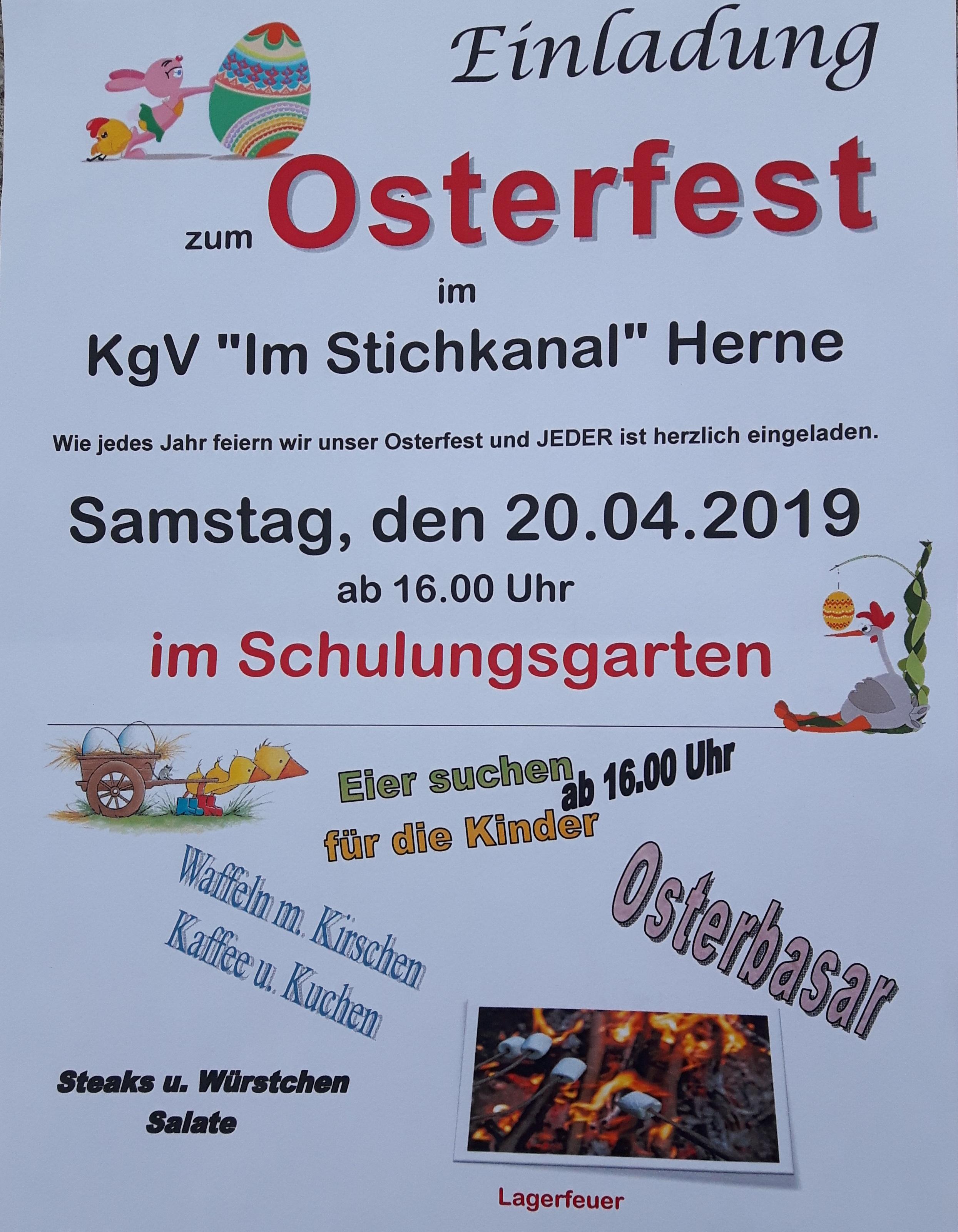 Flyer Osterfest