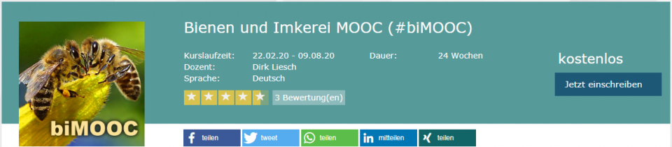Imker-Online-Kurs